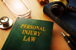 A book titled Personal Injury Law